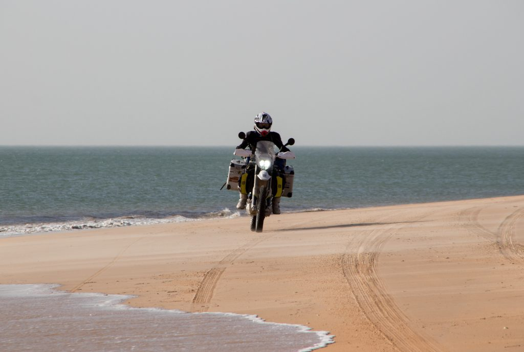 Beach ride between Nouadhibou and Nouakchott