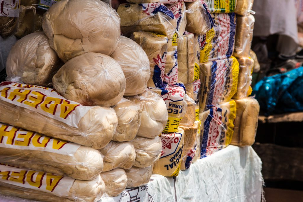 The only reason we will be glad to leave Ghana: awful bread!