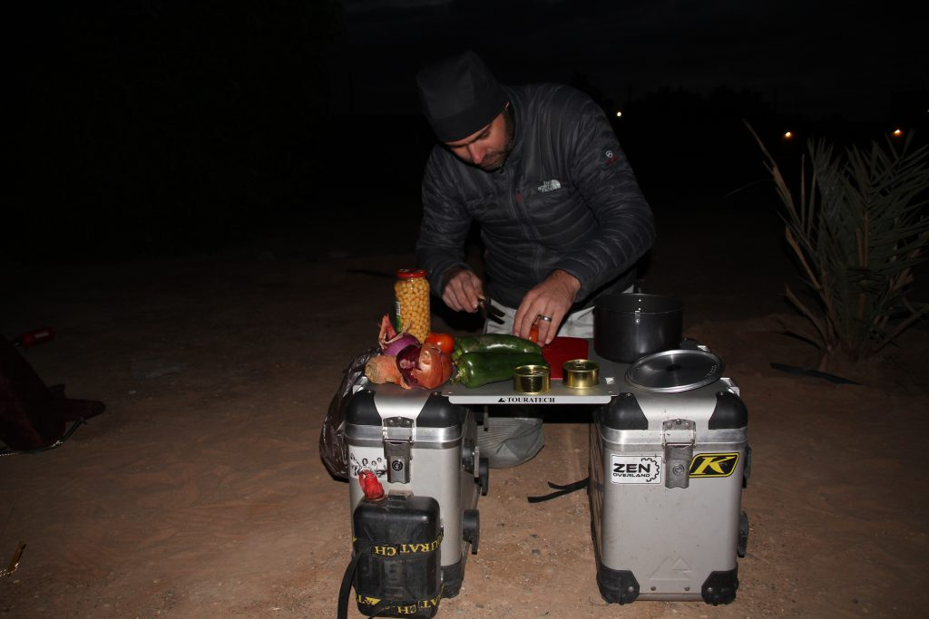 Master chef in the desert