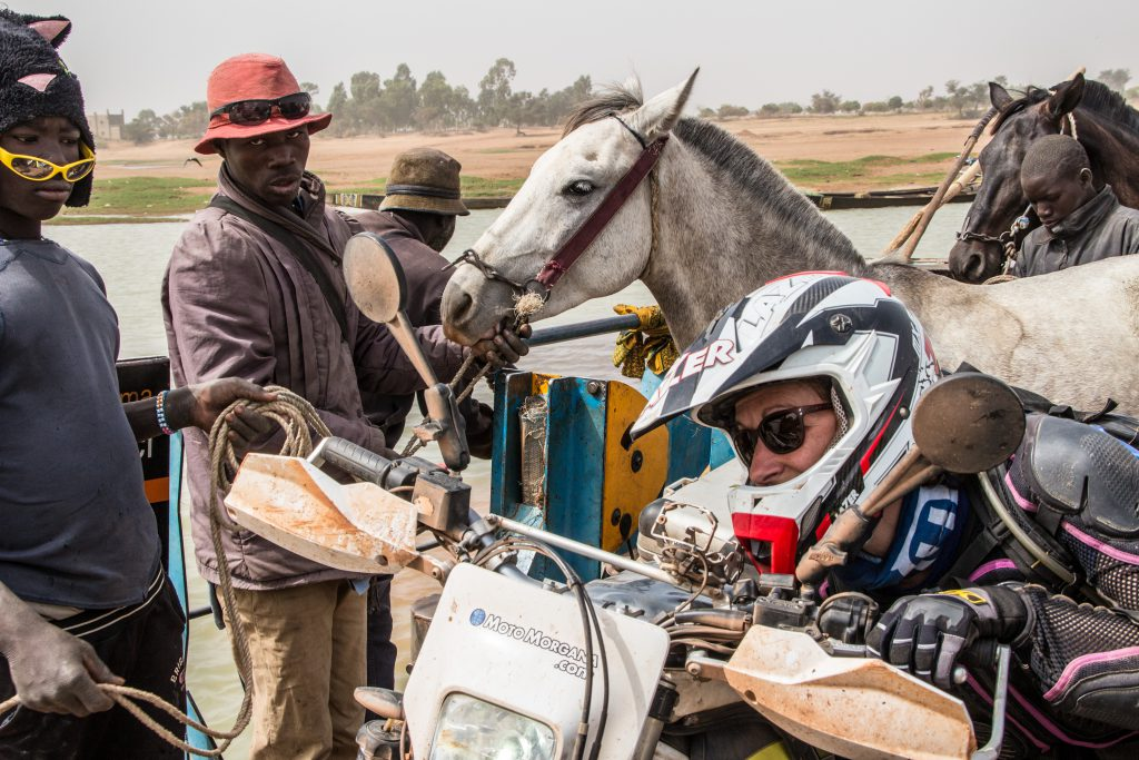 It wasn't just us on the little ferry out of Djenné