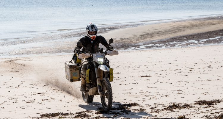 Mozambique beach ride