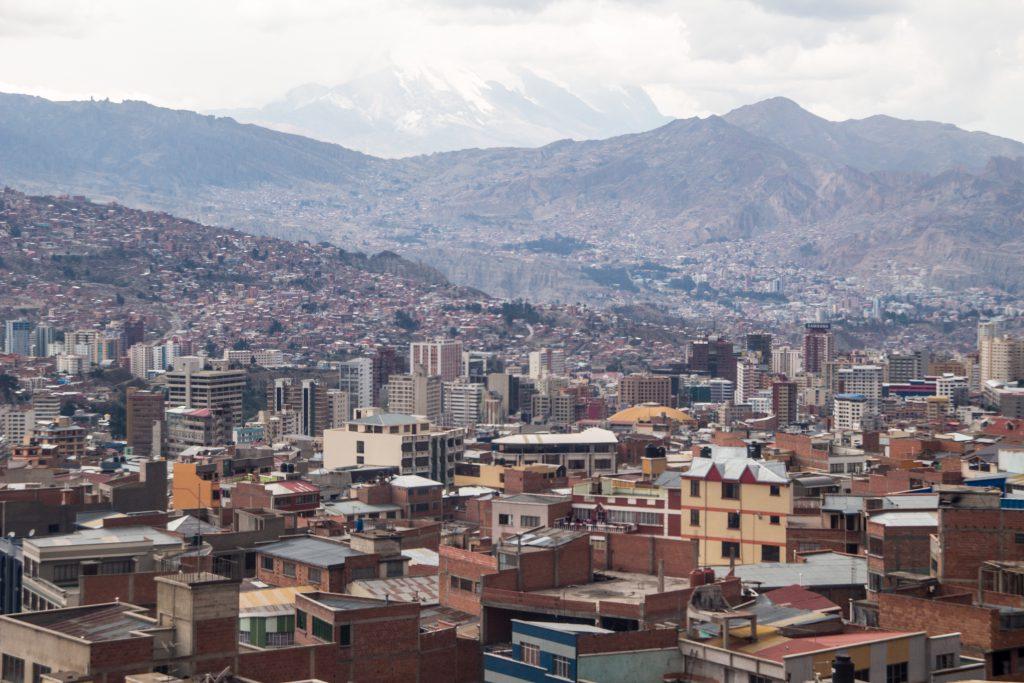 La Paz, a crazy city