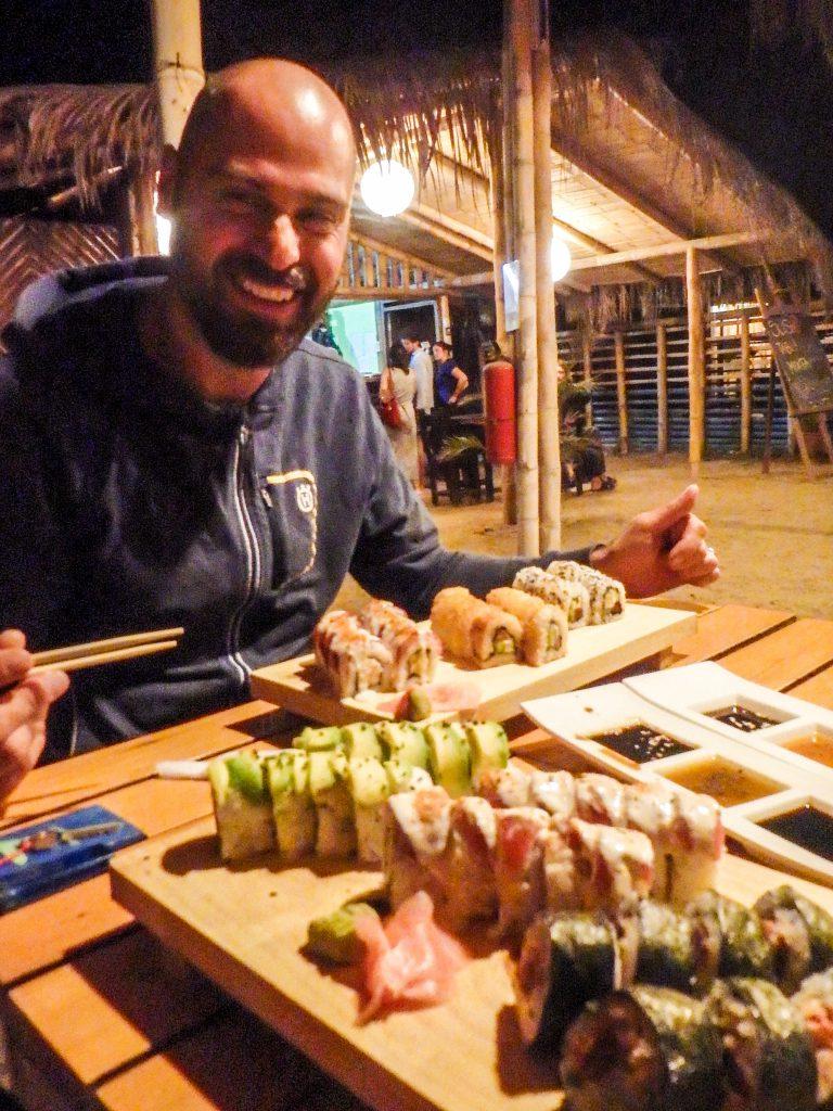 Sushi for Christmas!