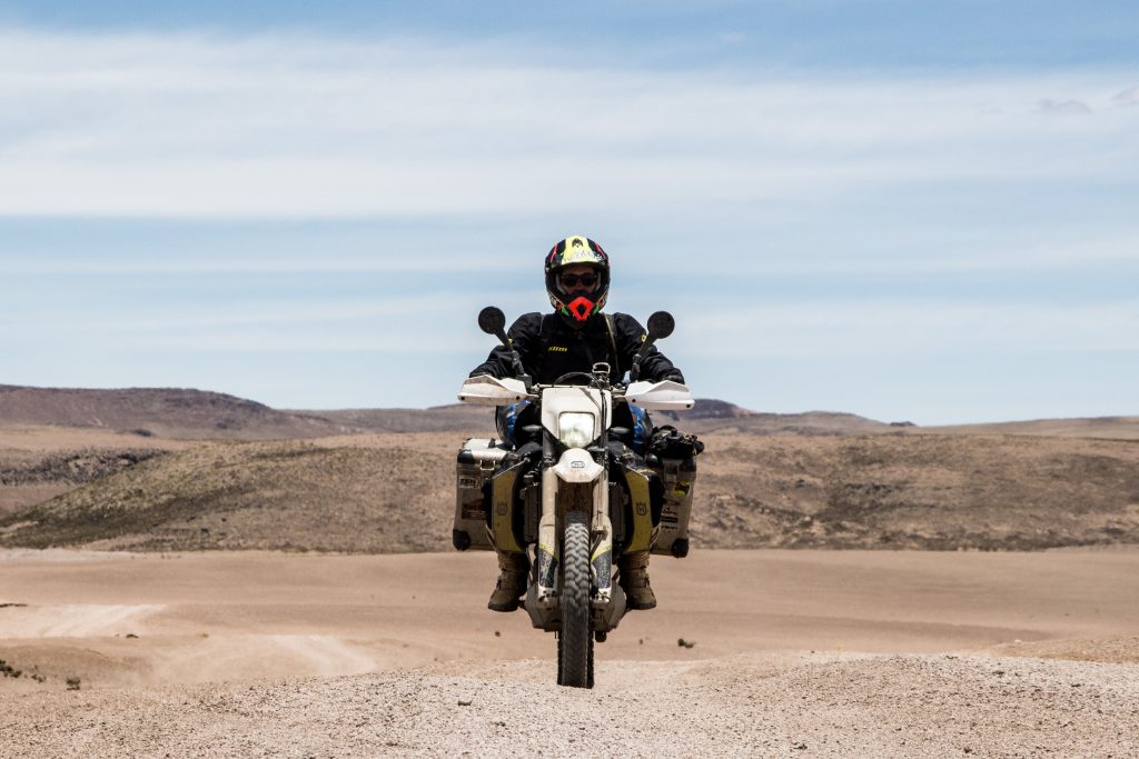 Caroline on the Peruvian altiplano