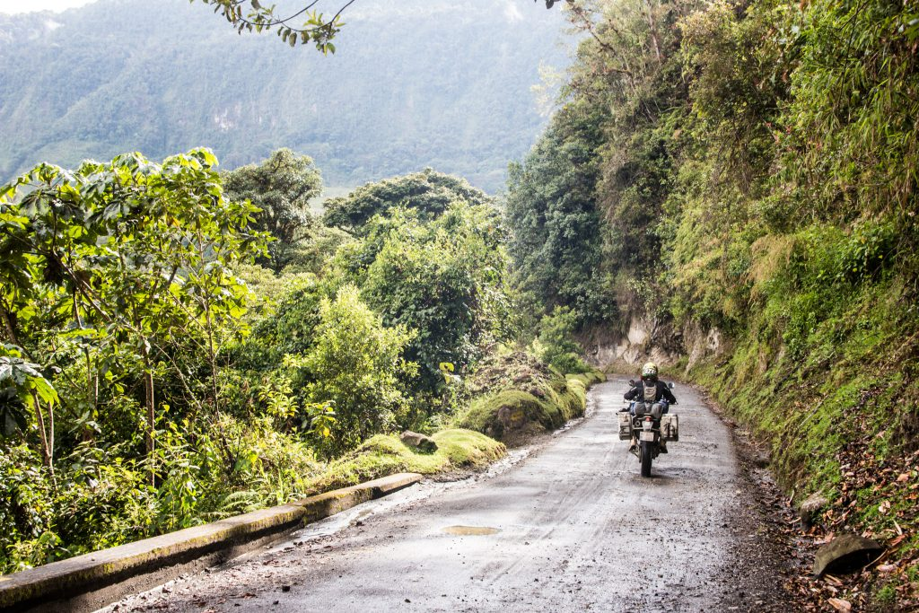 in between the downpours, Colombia is an awesome ride