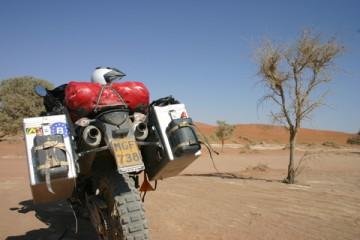 Namibia trip report - motorbike adventure - Doodvlei, Namibia - Motomorgana
