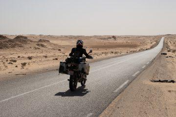 The road to Nouadhibou
