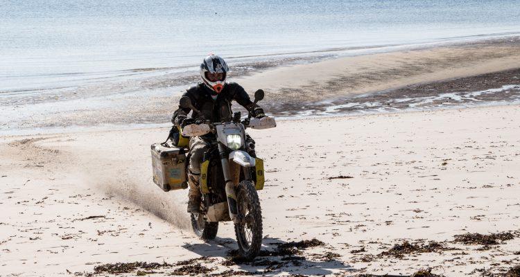 Mozambique beach ride
